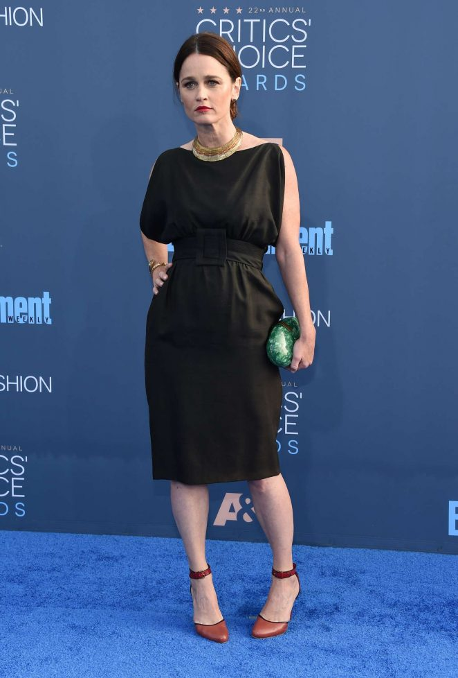 Robin Tunney - 22nd Annual Critics' Choice Awards in Los Angeles