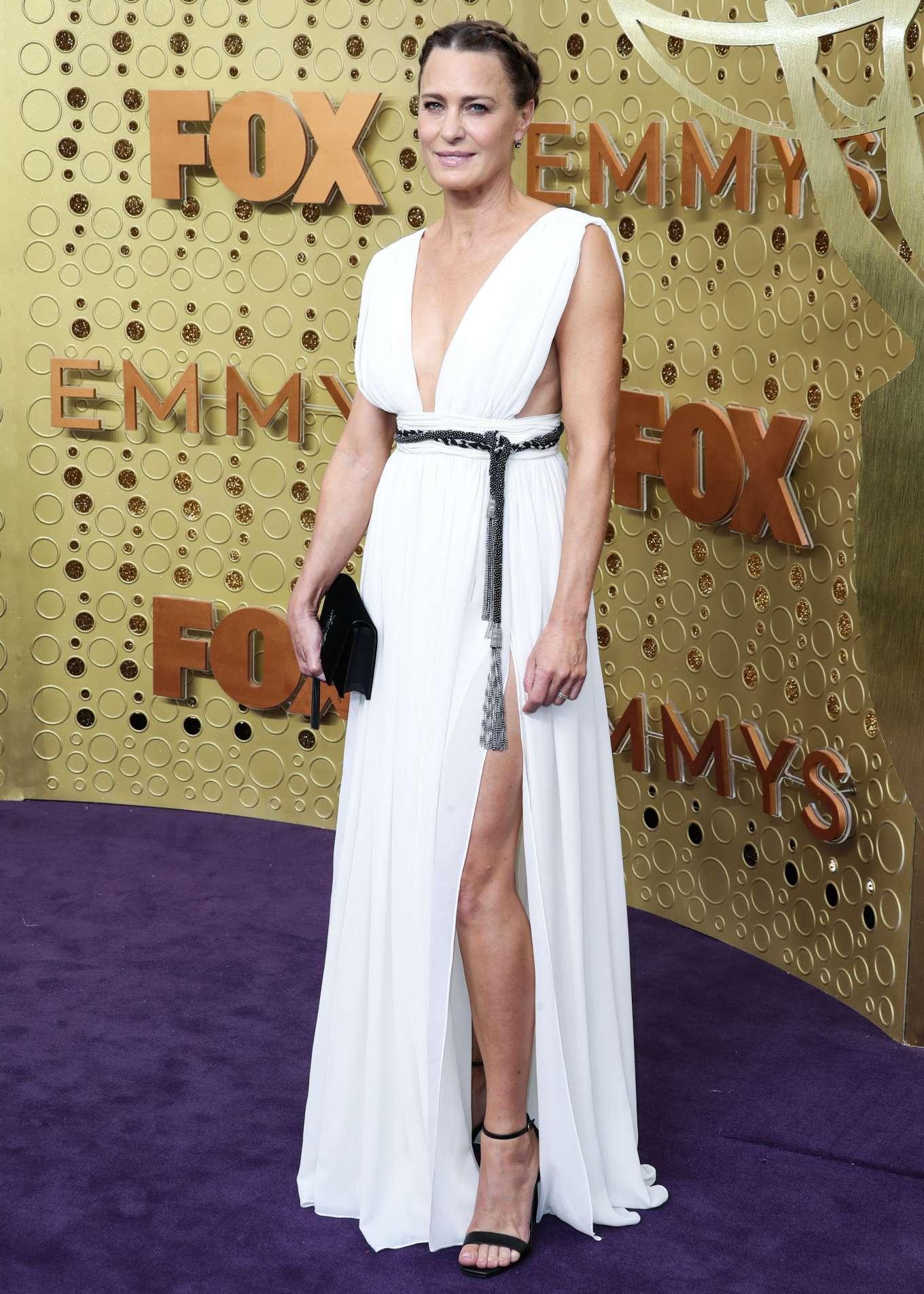 Robin Wright 2019 : Robin Wright – 2019 Emmy Awards-02