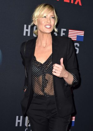 Robin Wright - 'House of Cards' Premiere in Los Angeles
