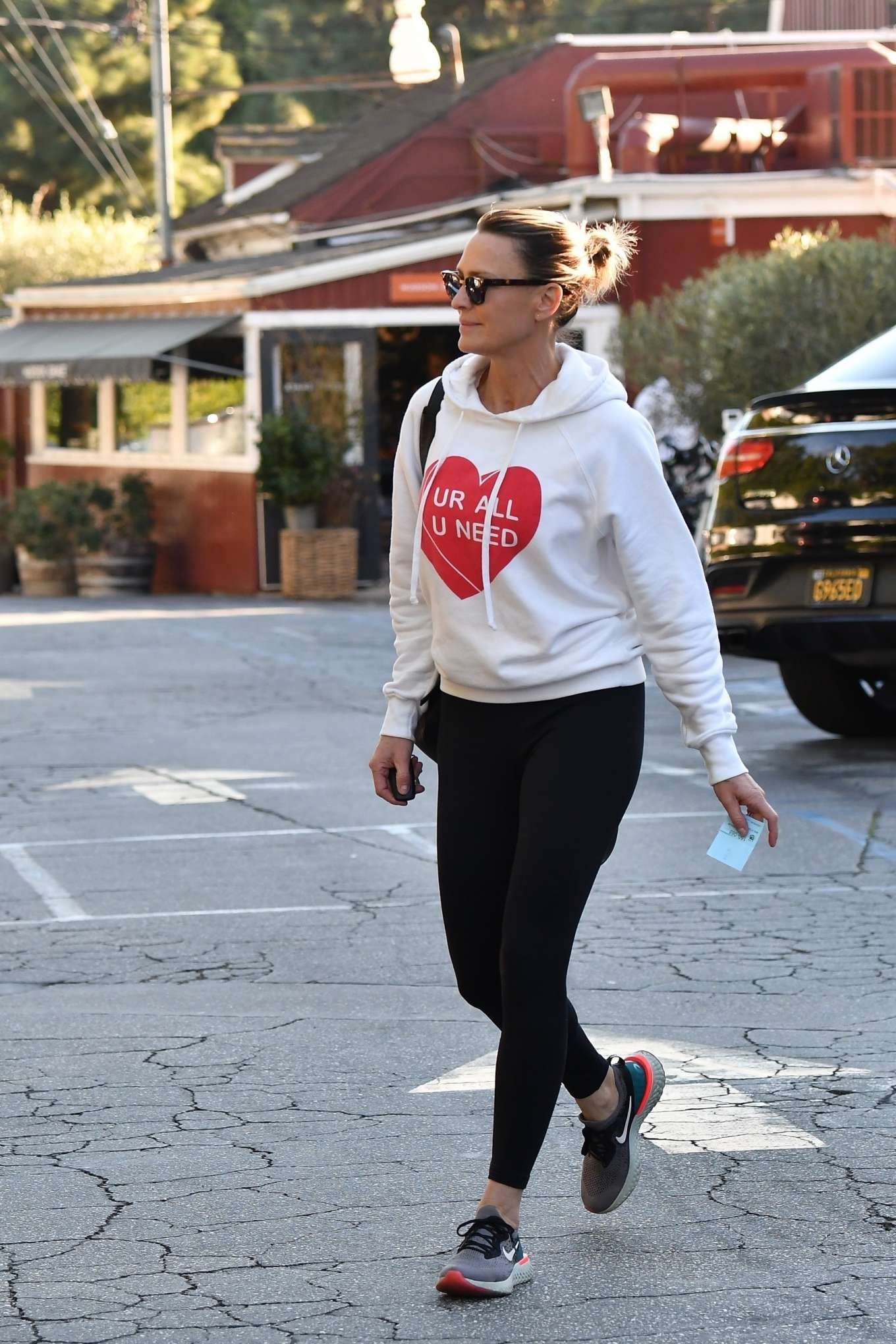 Robin Wright 2020 : Robin Wright in Black Tights – Out in Santa Monica-02