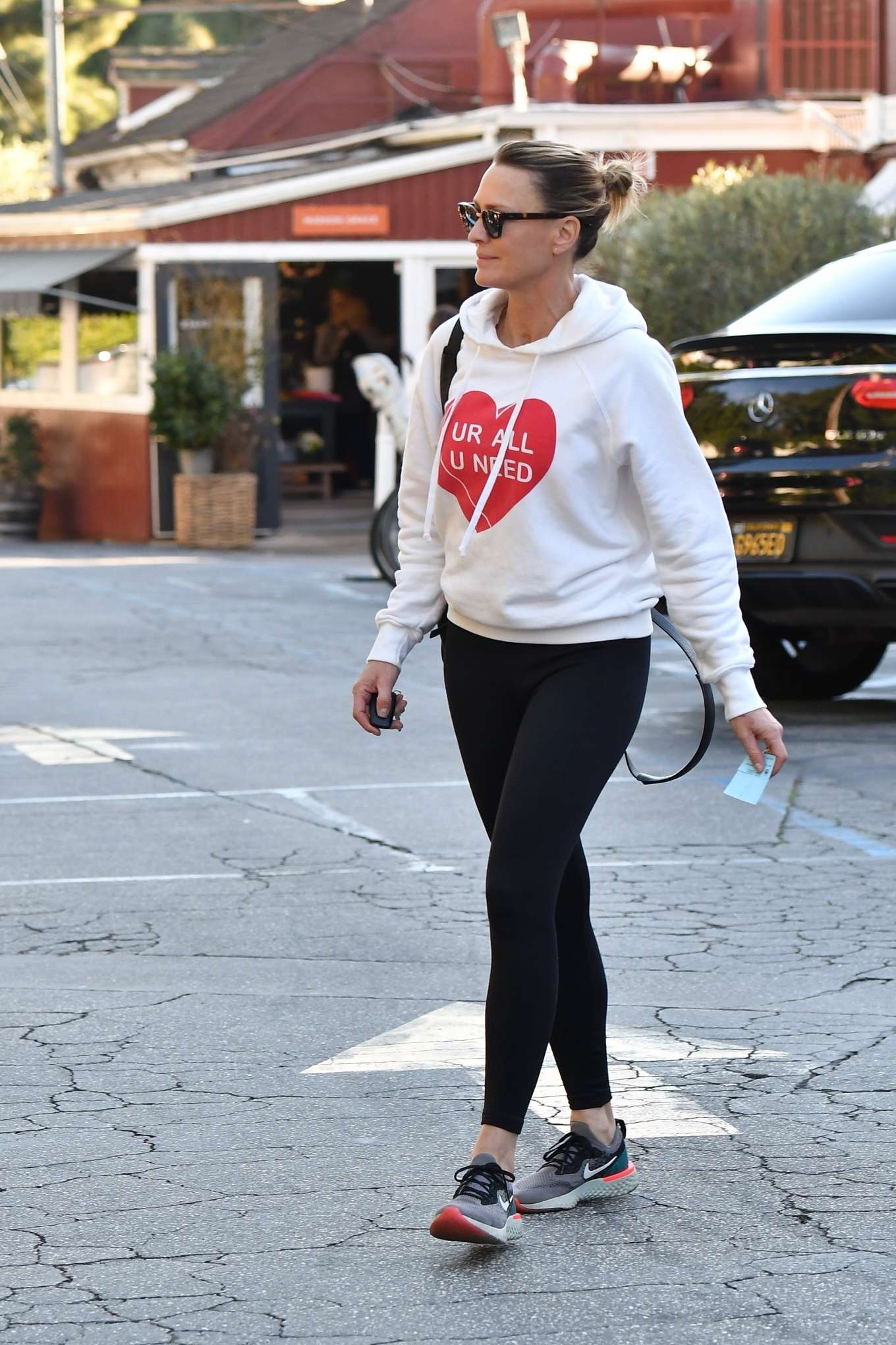 Robin Wright 2020 : Robin Wright in Black Tights – Out in Santa Monica-13
