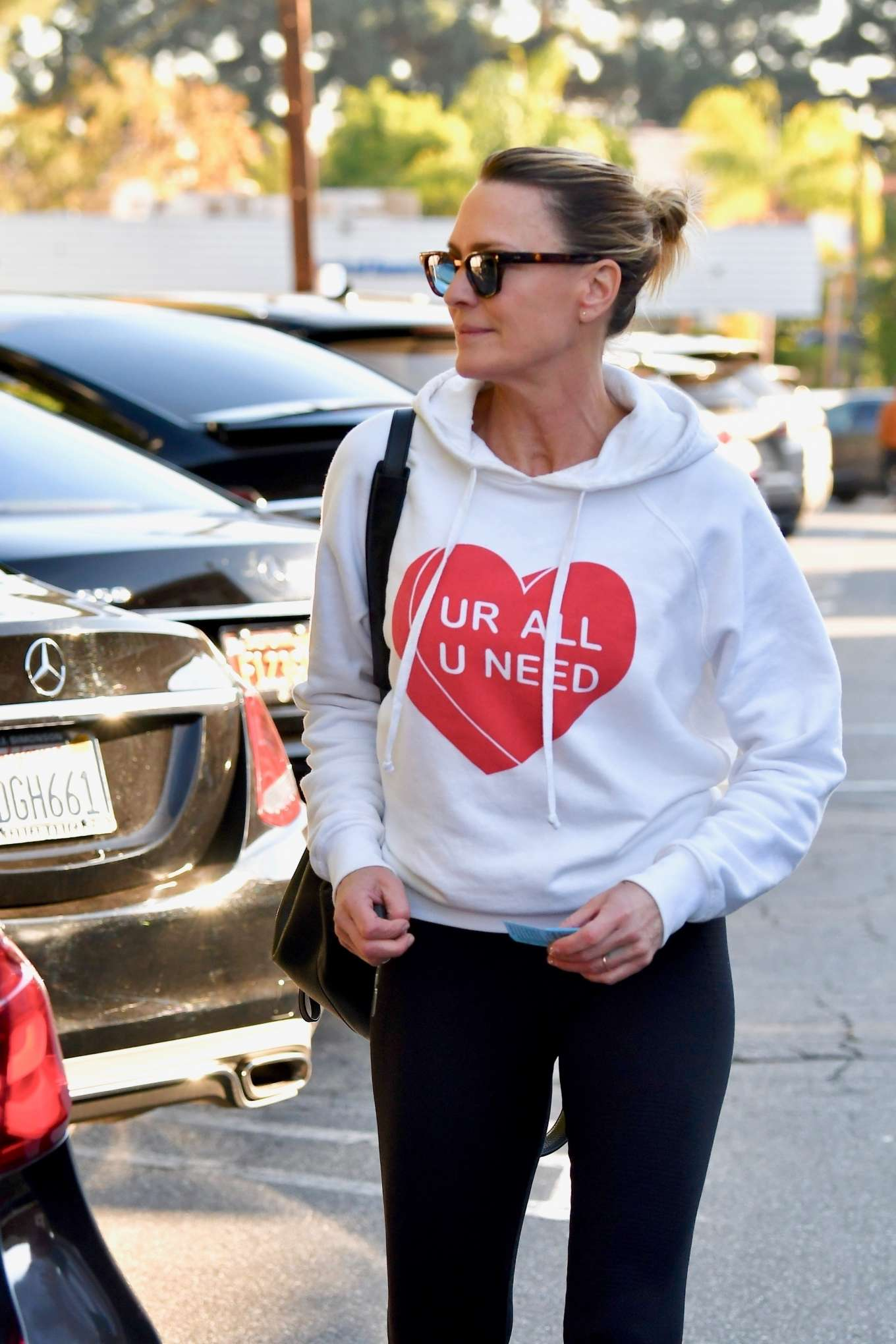 Robin Wright 2020 : Robin Wright in Black Tights – Out in Santa Monica-21