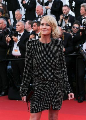 Robin Wright - 'Ismael's Ghosts' Screening at 70th Annual Cannes Film Festival in France