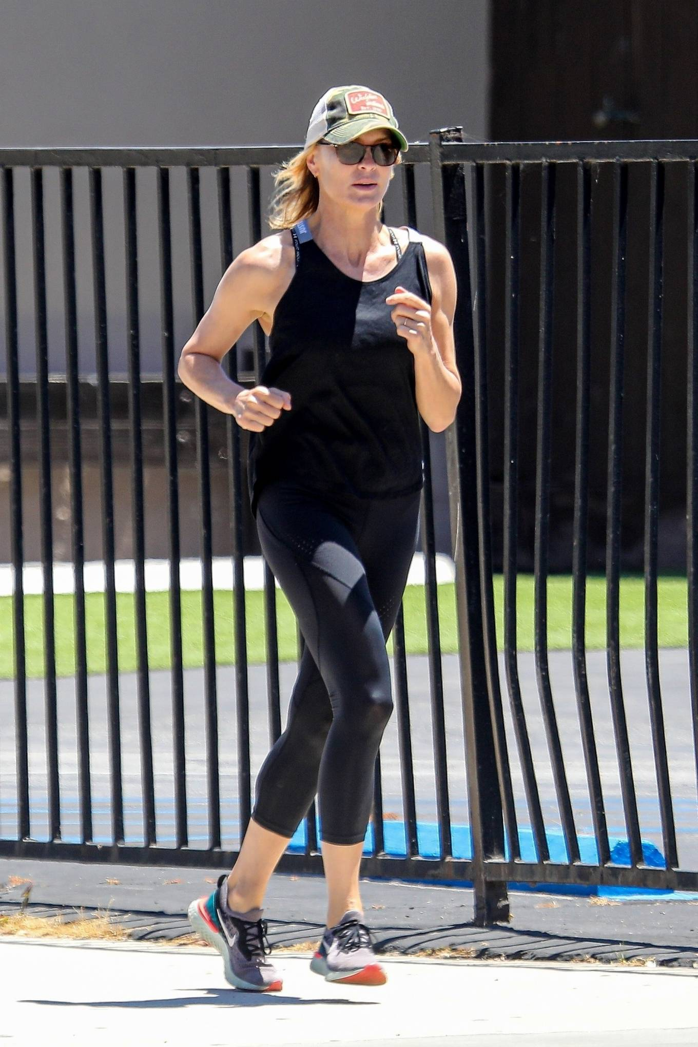 Robin Wright 2020 : Robin Wright – Out for a jog in Santa Monica-07