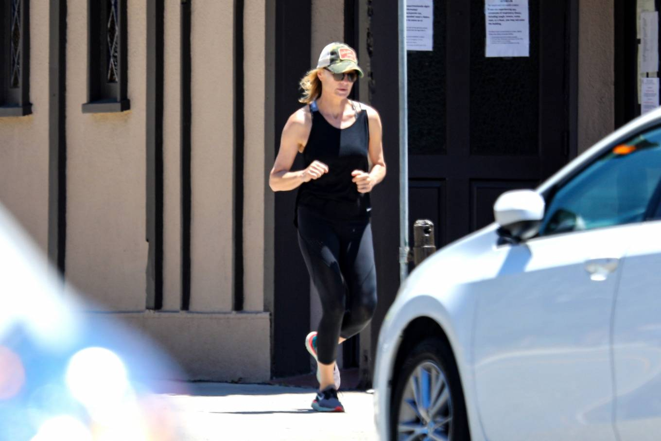 Robin Wright 2020 : Robin Wright – Out for a jog in Santa Monica-13