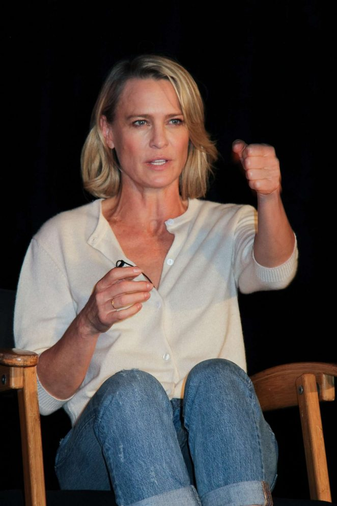 Robin Wright - 'Wonder Woman' Press Conference in Culver City