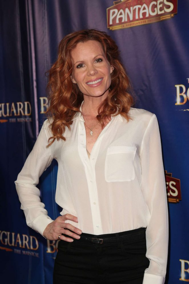 Robyn Lively - 'The Bodyguard' Opening Night in Los Angeles