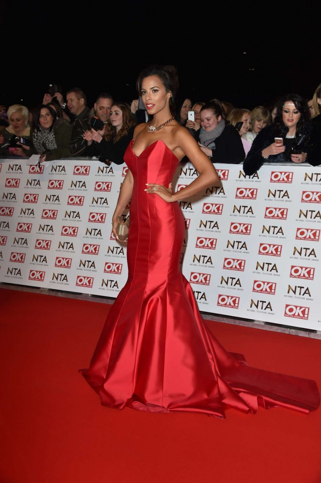 Rochelle Humes: 2015 National Television Awards -02