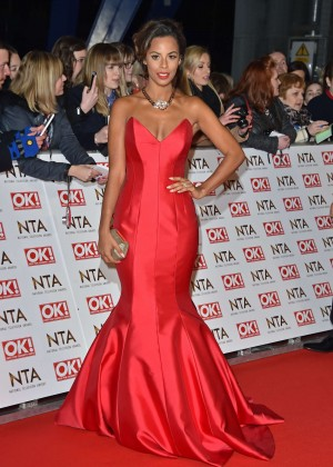 Rochelle Humes - 2015 National Television Awards in London