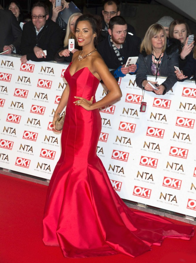 Rochelle Humes: 2015 National Television Awards -07