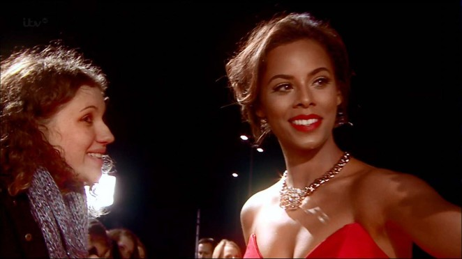 Rochelle Humes: 2015 National Television Awards -10