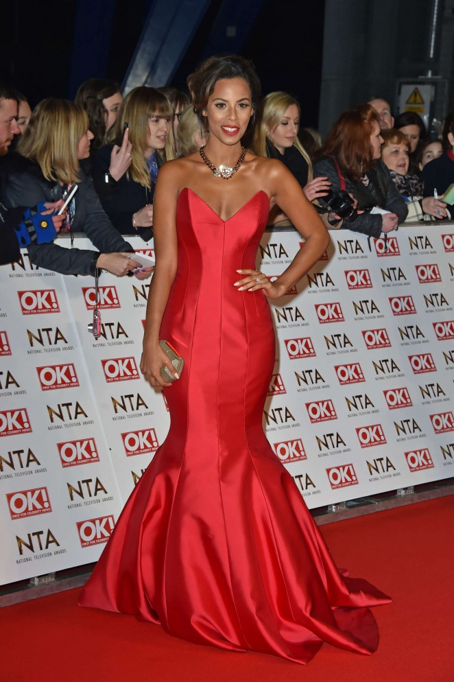 Rochelle Humes: 2015 National Television Awards -19
