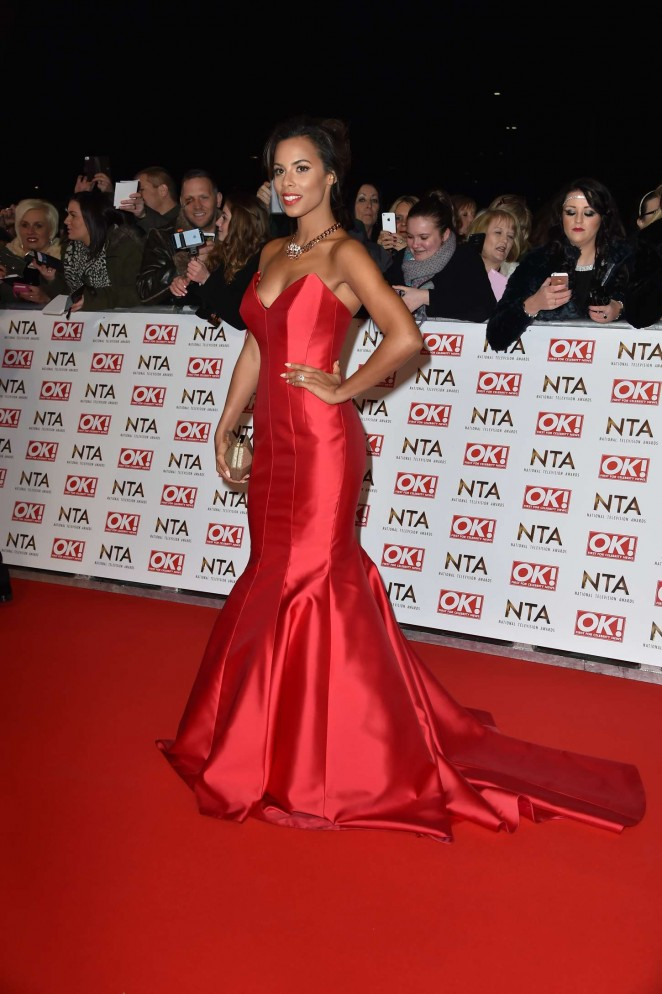 Rochelle Humes: 2015 National Television Awards -20
