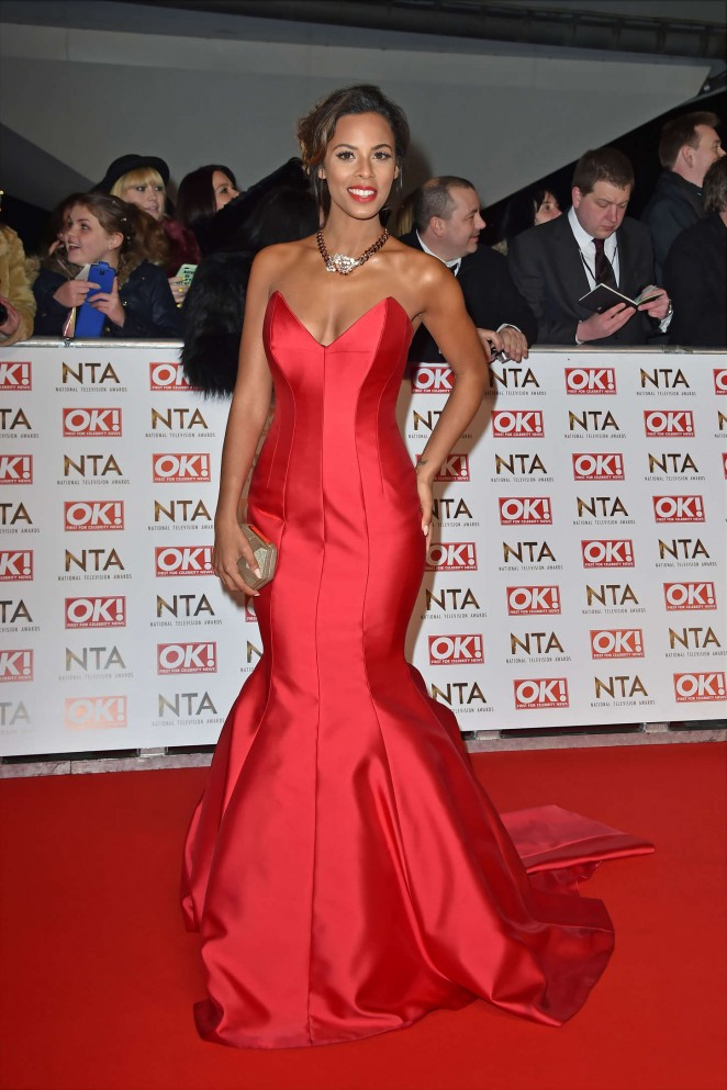 Rochelle Humes: 2015 National Television Awards -21