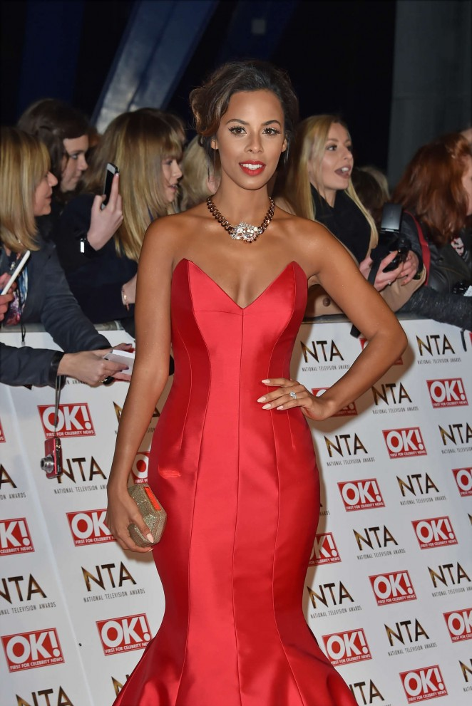 Rochelle Humes: 2015 National Television Awards -24