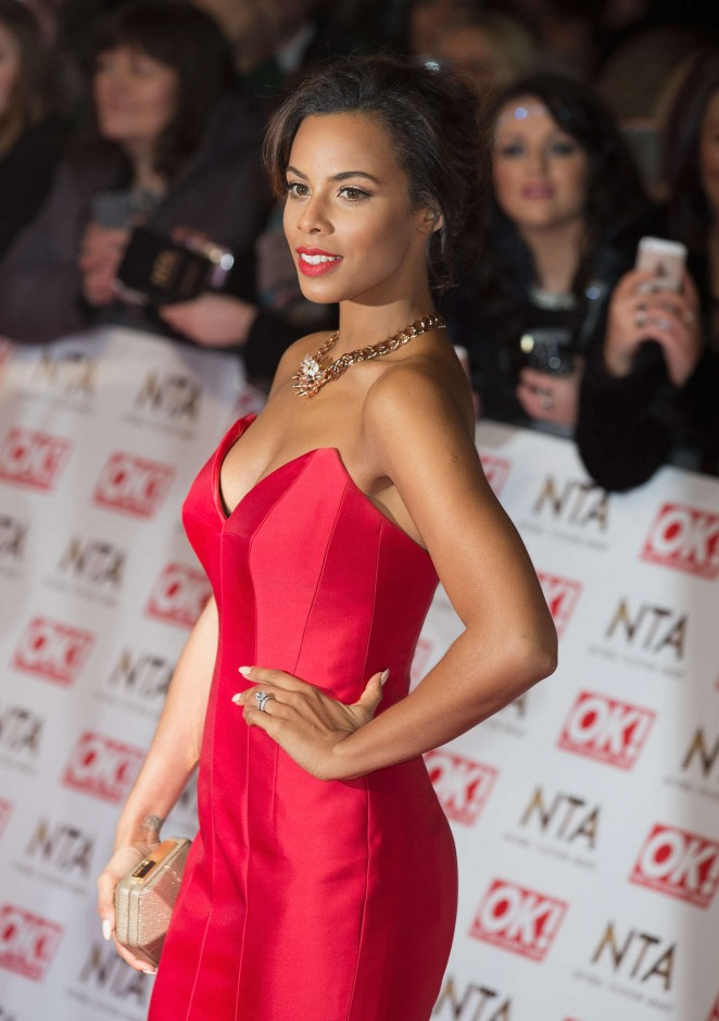 Rochelle Humes: 2015 National Television Awards -27