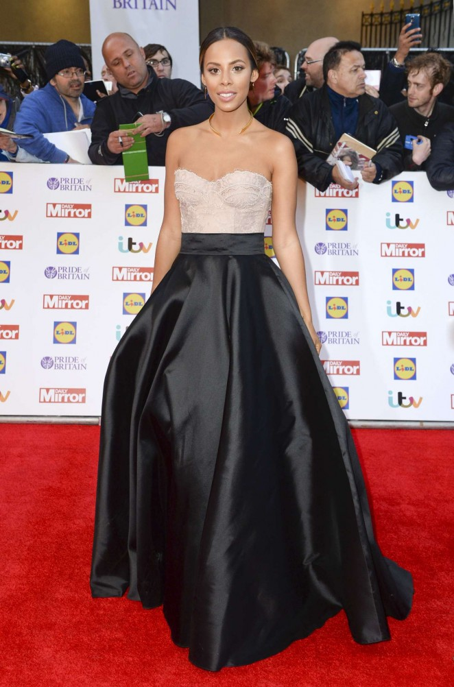 Rochelle Humes - 2015 Pride of Britain Awards in London