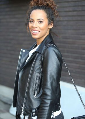 Rochelle Humes - ITV Studios in London