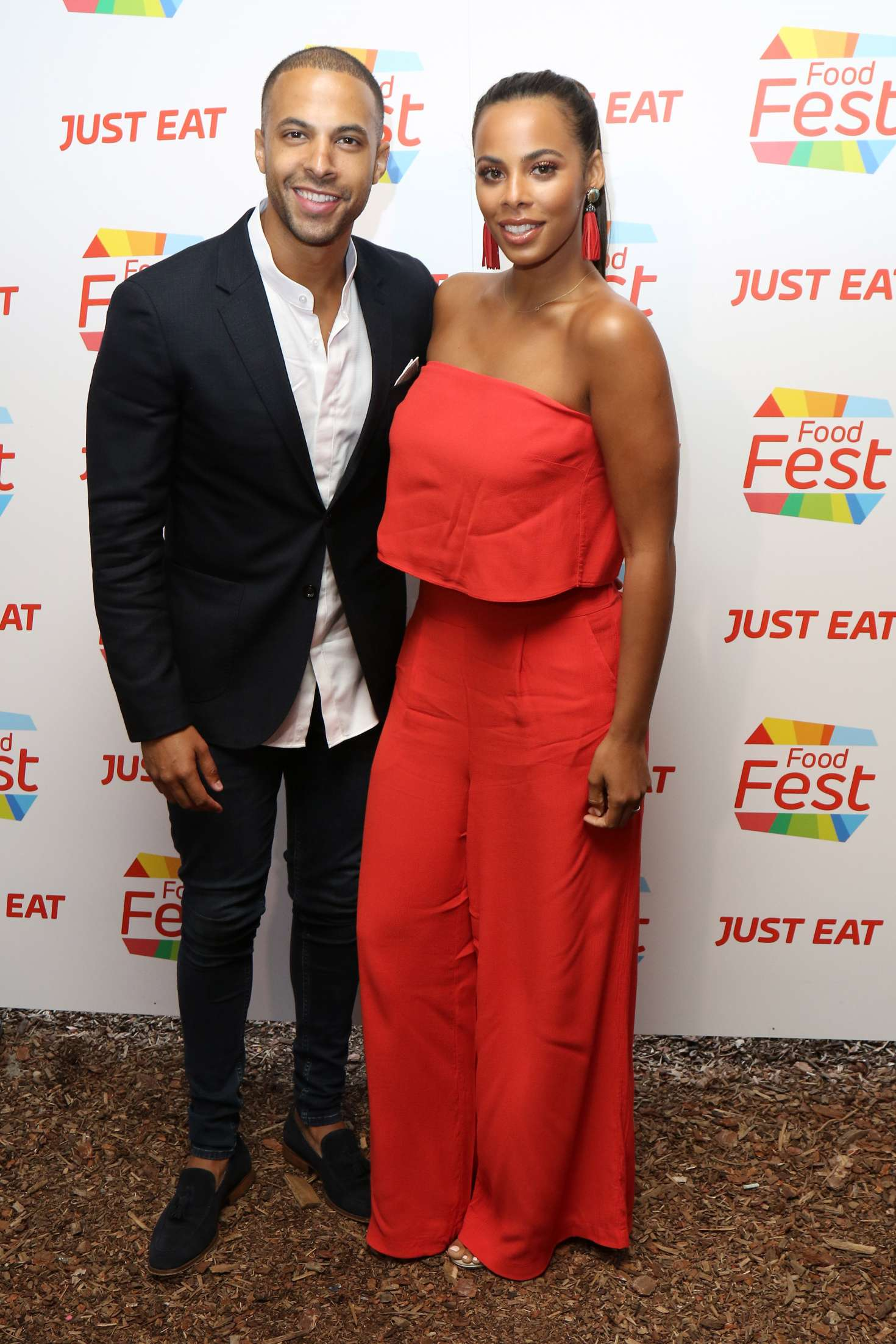 Shoreditch Market: Rochelle Humes: Just Eat Food Fest At The Red Market -13