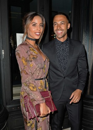 Rochelle Humes - LCM GQ Party at Sartoria Restaurant in London