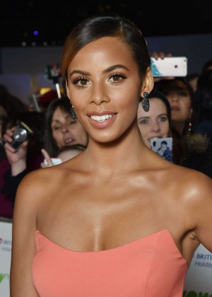 Rochelle Humes - National Television Awards 2016 in London
