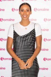 Rochelle Humes - On the Lorraine TV show in London