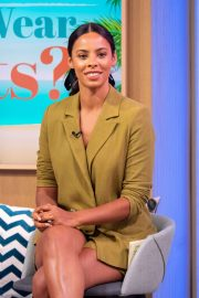 Rochelle Humes - On This Morning TV show in London