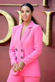 Rochelle Humes - 'The Lion King' Premiere in London
