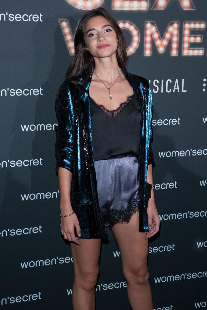 Rocio Crusset - 'Women'Secret' First Musical in Madrid