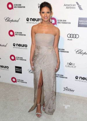 Rocsi Diaz - Oscars 2015 - Elton John AIDS Foundation Academy Awards Party