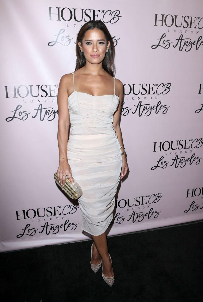 rocsi diaz house of cb launch in west hollywood. Black Bedroom Furniture Sets. Home Design Ideas
