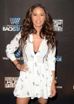 Rocsi Diaz - Westwood One Backstage at the American Music Awards in LA