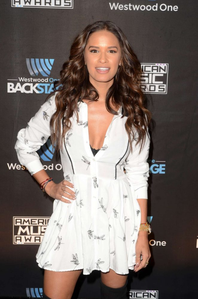 Rocsi Diaz – Westwood One Backstage at the American Music Awards in LA
