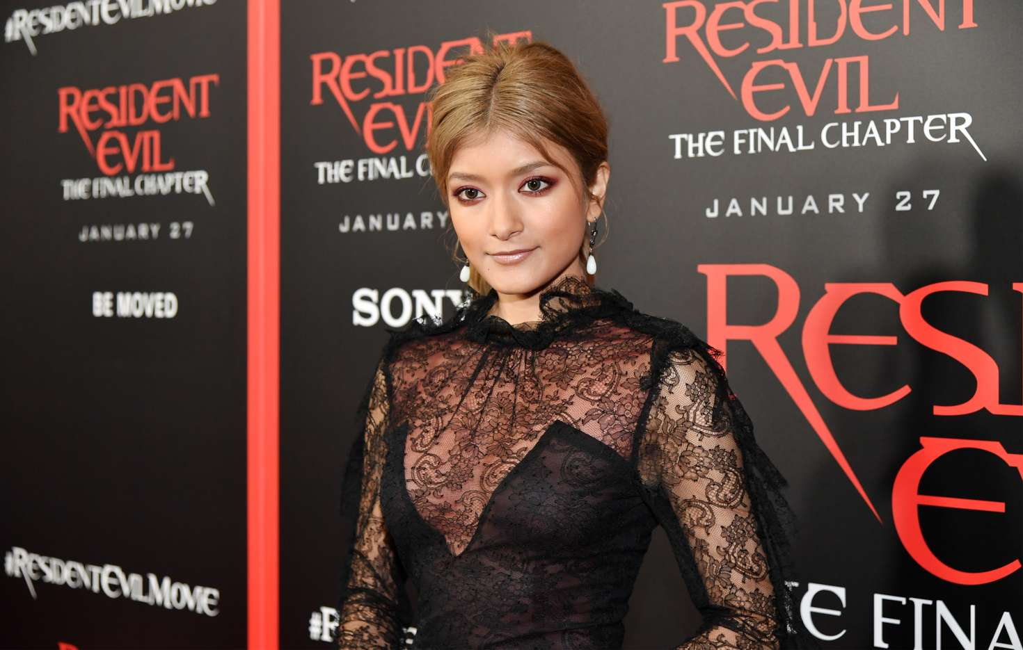 Resident Evil The Final Chapter Premiere In: Rola: Resident Evil: The Final Chapter LA Premiere -01