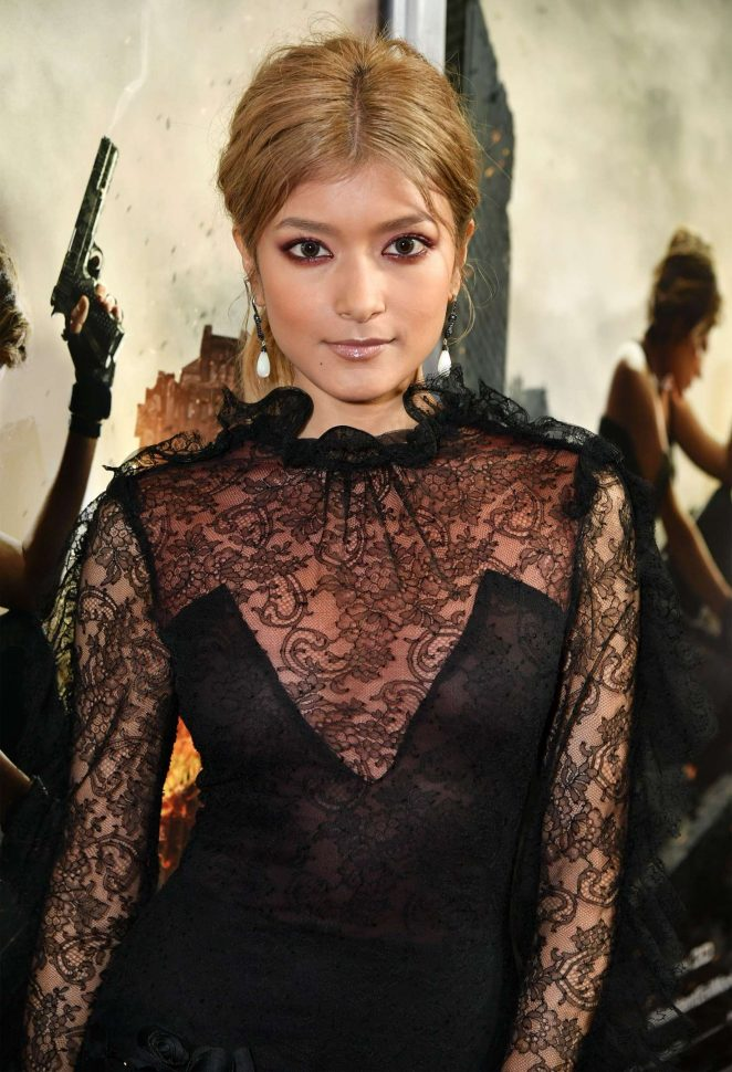 Rola – 'Resident Evil: The Final Chapter' Premiere in Los