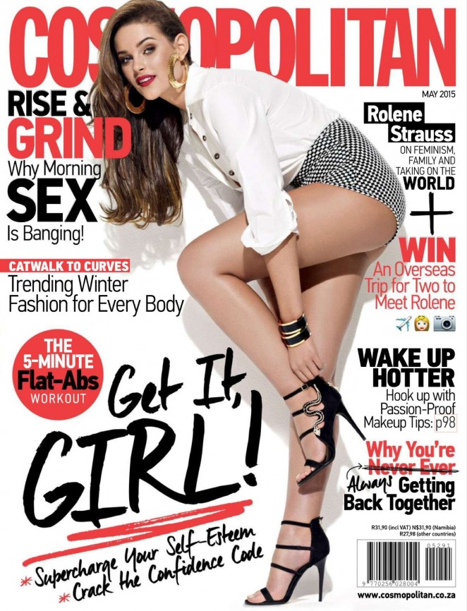 Rolene Strauss - Cosmopolitan South Africa Magazine (May 2015)