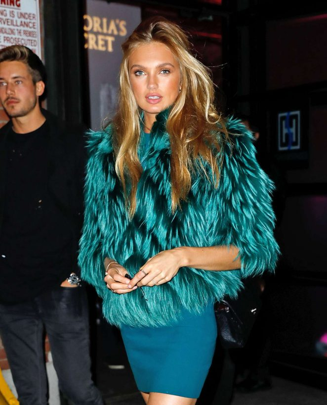 Romee Strijd - 2016 Victoria's Secret Fashion Show Party in New York