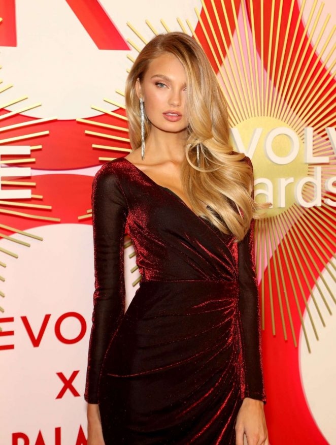 Romee Strijd – 2018 REVOLVE Awards in Las Vegas