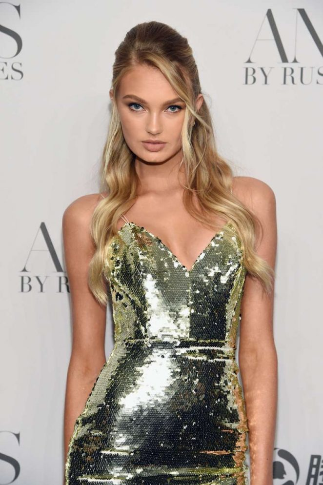 Romee Strijd - 'ANGELS' by Russell James Book Launch and Exhibit in NY