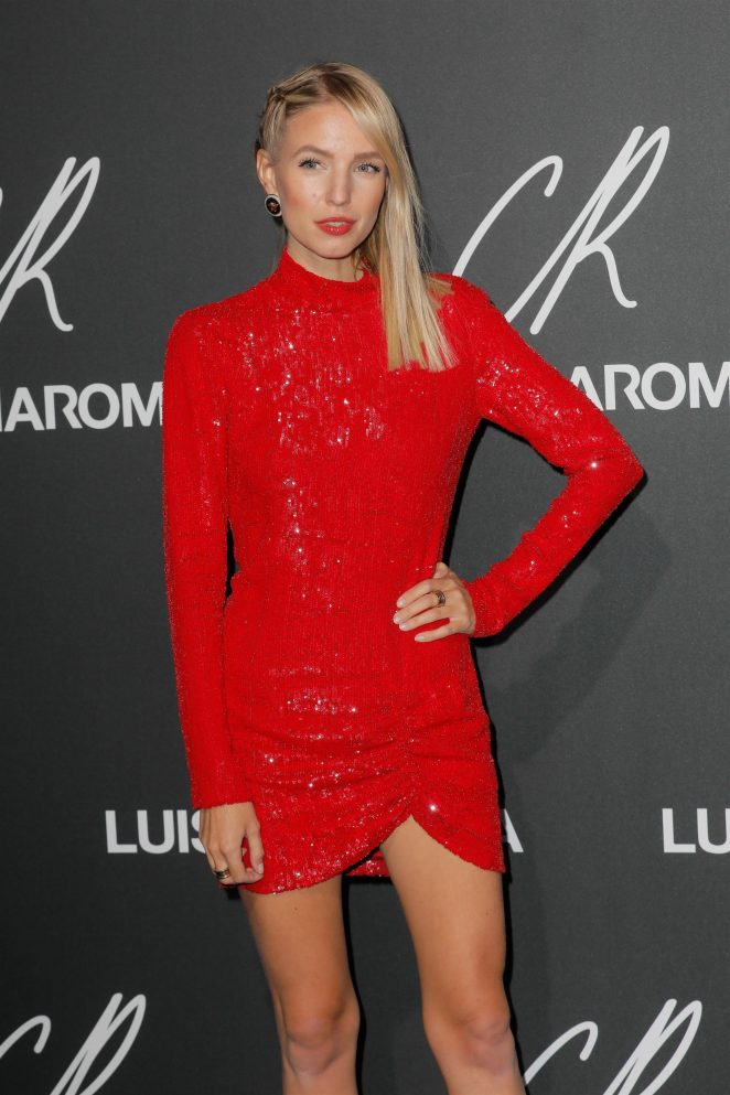 Romee Strijd - CR Fashion Book x Luisasaviaroma: Photocall in Paris