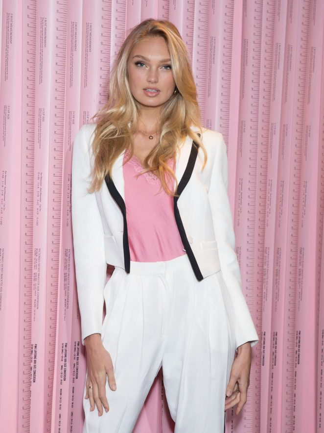 Romee Strijd - Promotion at Victoria's Secret in London