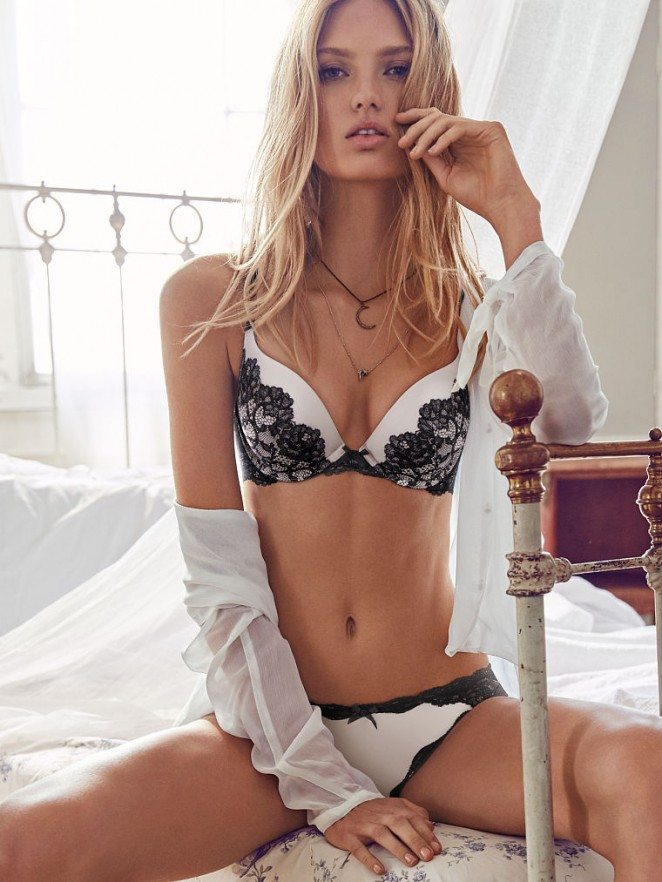 Romee Strijd - Victoria's Secret Lingerie (June 2015)