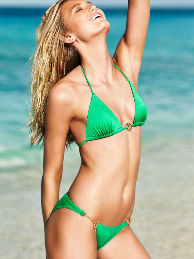 Romee Strijd - Victoria's Secret Swim Catalog 2015