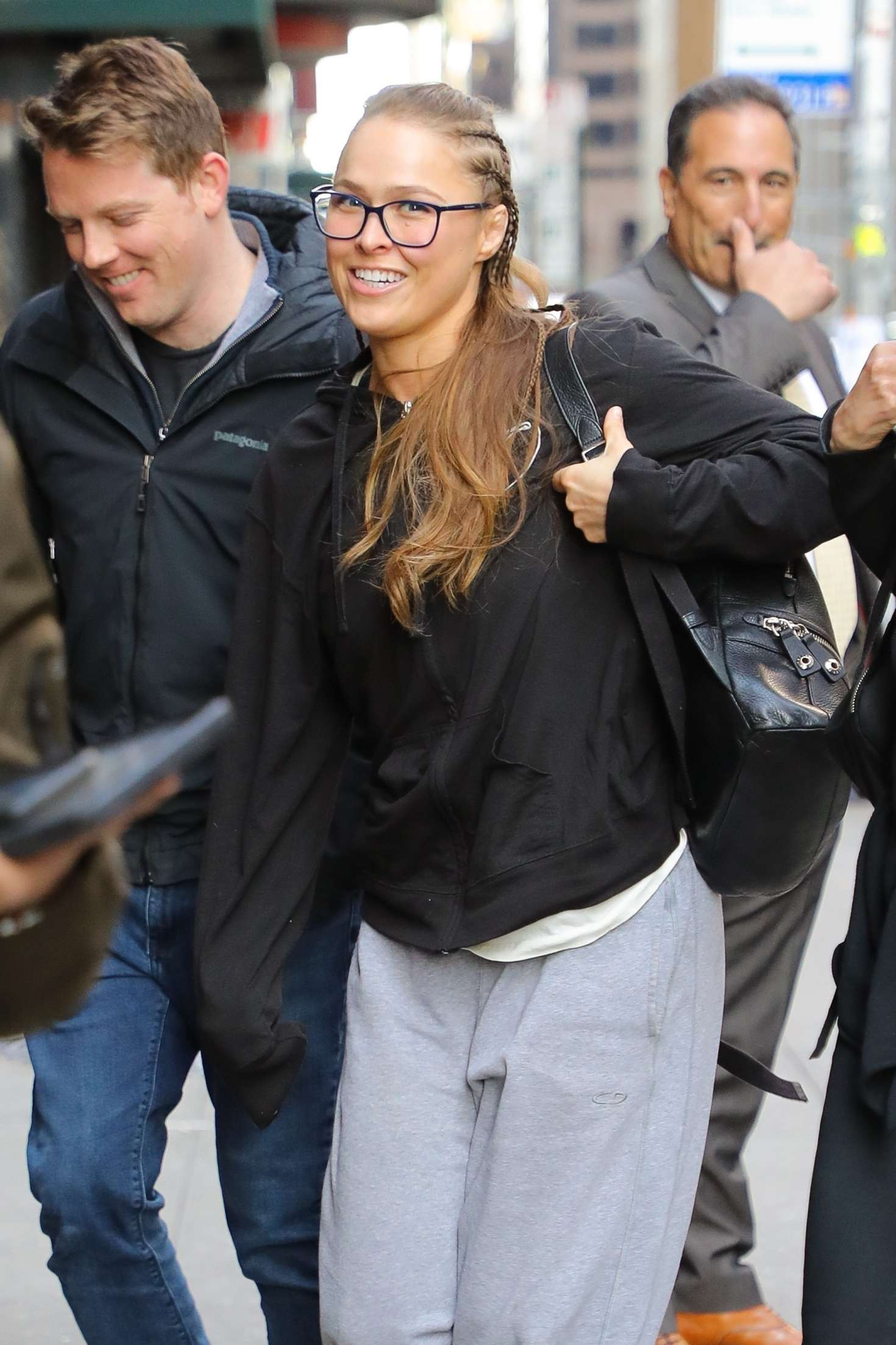 Ronda Rousey - Arrives at 'The Late Show with Stephen Colbert' in New York