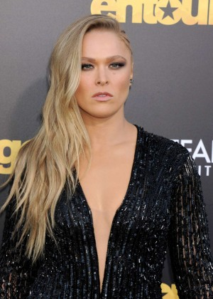 Ronda Rousey - 'Entourage' Premiere in Westwood