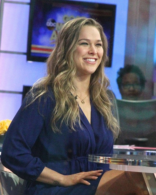 Ronda Rousey - 'Good Morning America' in NYC
