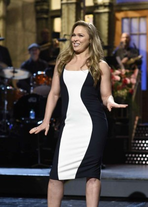 Ronda Rousey - Saturday Night Live in New York