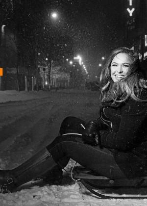 Ronda Rousey: Saturday Night Live Photoshoot 2016 -03
