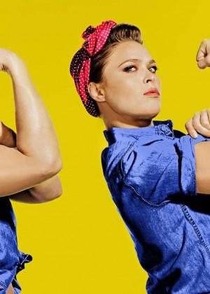Ronda Rousey: Saturday Night Live Photoshoot 2016 -06