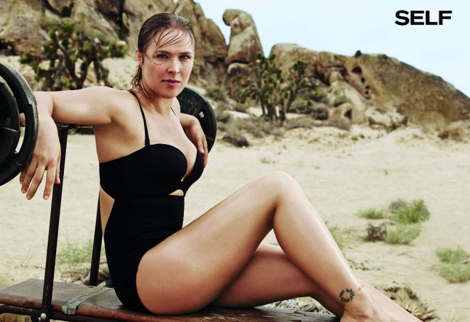 Ronda Rousey - SELF Magazine (November 2015)
